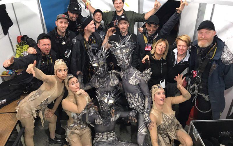 Arcadia Show Crew